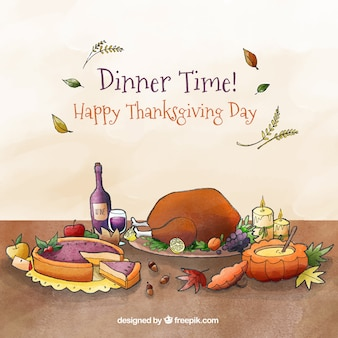 Beautiful thanksgiving design