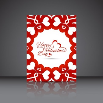 Beautiful valentines day card