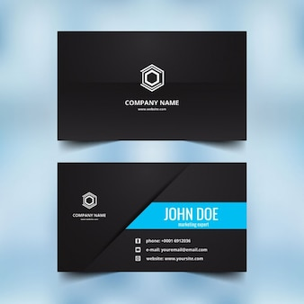 Beautiful visiting card design