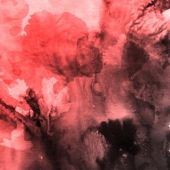 スプラッター付きの美しい水彩の背景