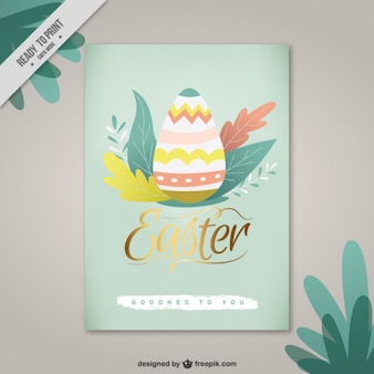 Beauty Easter card