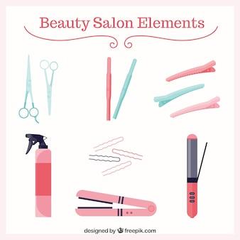 Beauty salon elements pack