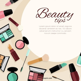 Beauty tips template