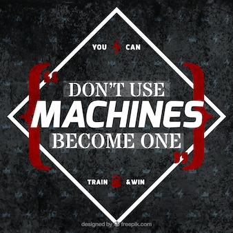 Become machine background