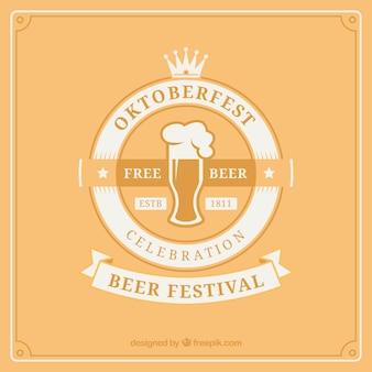Beer for oktoberfest celebration