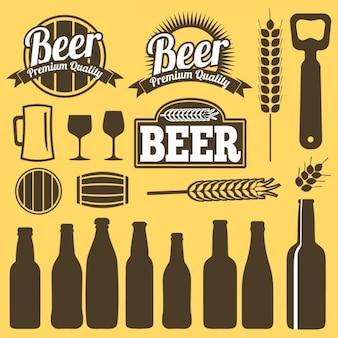Beer labels design