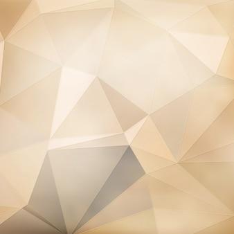 Beige geometric background