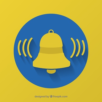 Bell notification background
