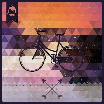 Bicycle background design