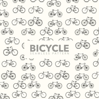 Bicycle pattern background