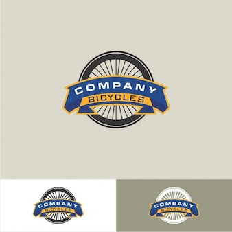 Bicycle wheel logo
