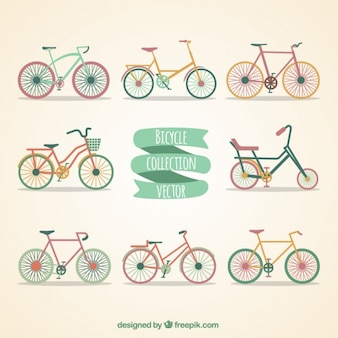 Bicycles collection