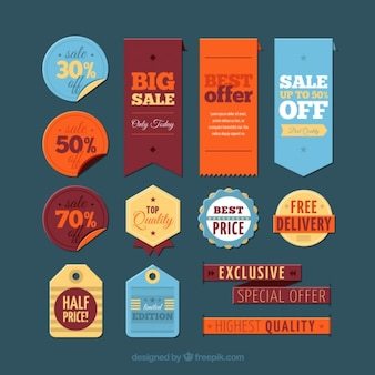 Big sale labels