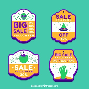 Big sale tags for halloween