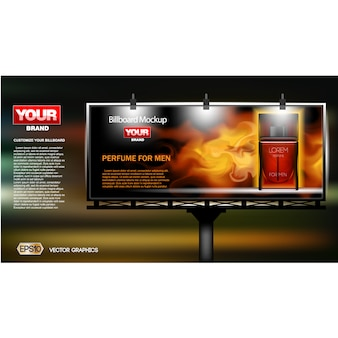 Billboard background design
