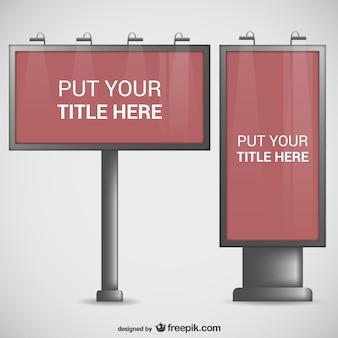 Billboard templates pack