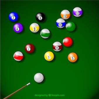 Billiard sport