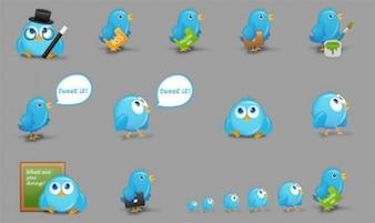 bird character of twitter