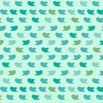 Birds pattern background