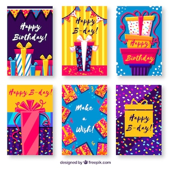 Birthday cards collection