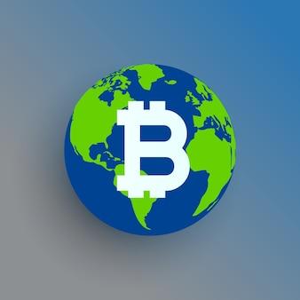 Bitcoin earth design