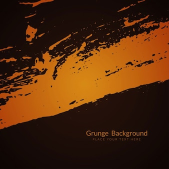 Black and orange grunge background