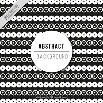 Black and white abstract pattern design