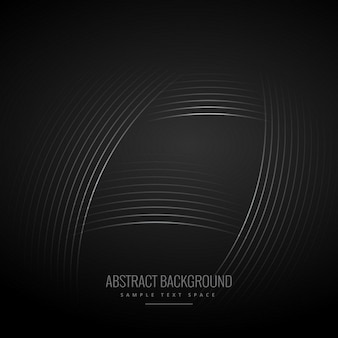 Black background with curve lines