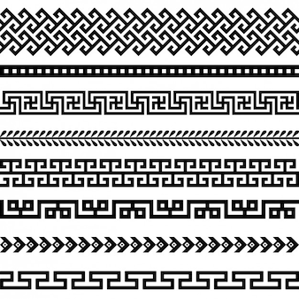 Black borders collection