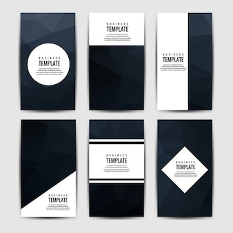 Black brochures collection