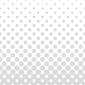 Black circles on white background