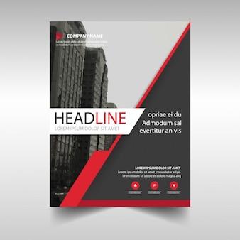 赤い線とブラック企業パンフレット