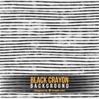 Black crayon stripes background
