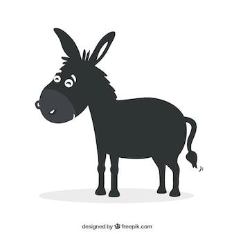 Black donkey