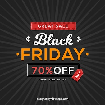 Black friday background design