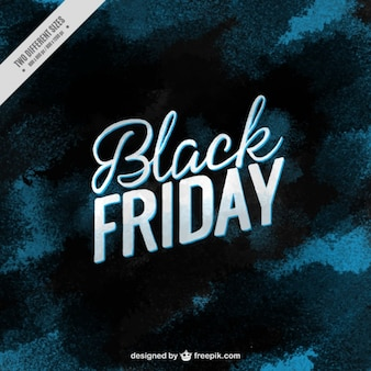 Black friday background in blue tones