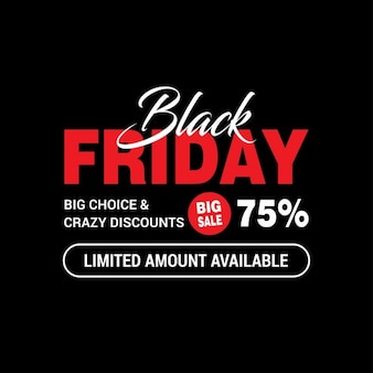 Black friday, background