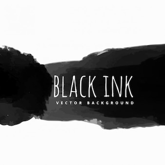 black ink background
