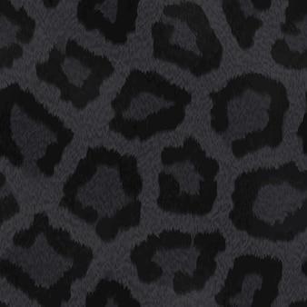 Black skin animal texture