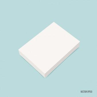 Blank rectangular box