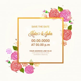 Blossom anniversary wedding bride save