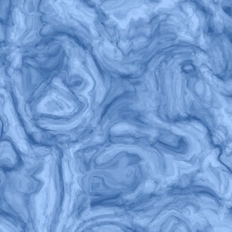 Blue abstract background with marble texture