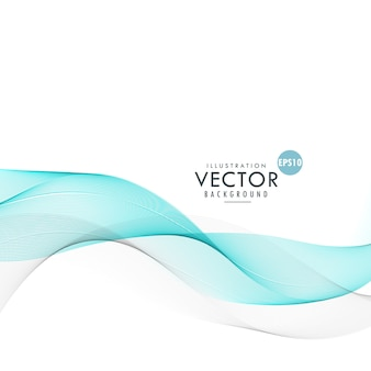 Blue abstract wave background design