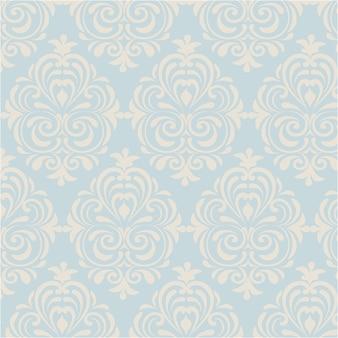 Blue and beige ornamental background
