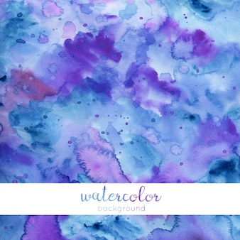 Blue and purple watercolor background / texture