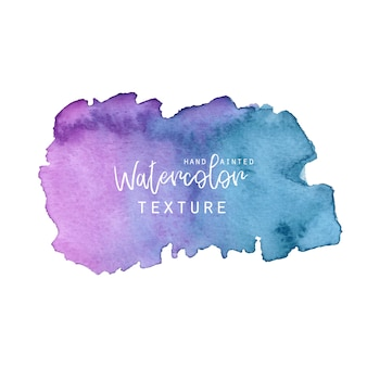 Blue and purple watercolor texture