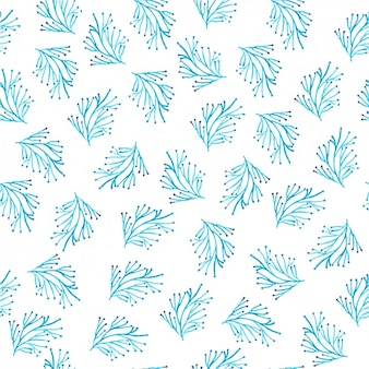 Blue branches pattern design
