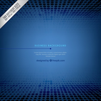 Blue Business Background and Template