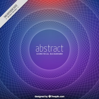 Blue circular background with lines