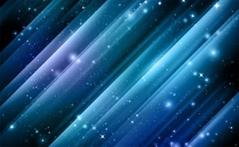 Blue cosmos star abstract background